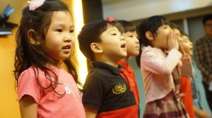 singing children